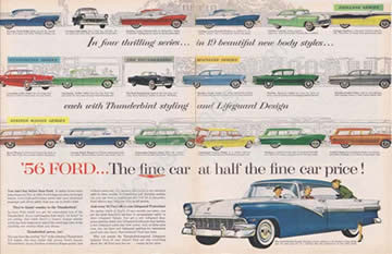 1956 Ford Series