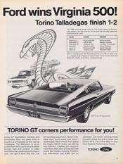 1969 Ford Torino GT ad