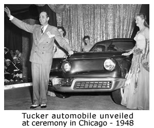 Tucker unveil Chicago 1948